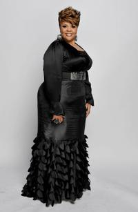 Tamela Mann at the 41st NAACP Image Awards.