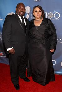 David Mann and Tamela Mann at the 40th NAACP Image Awards.
