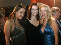 Crystal Lowe, Gina Holden and Chelan Simmons at the premiere of