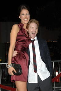 Amanda Crew and Seth Green at the L.A. premiere of