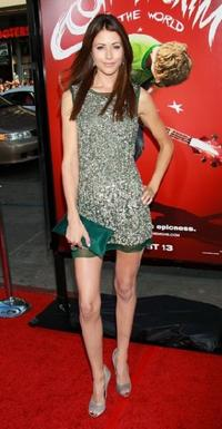 Amanda Crew at the premiere of