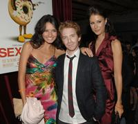 Alice Greczyn, Seth Green and Amanda Crew at the after party of the premiere of