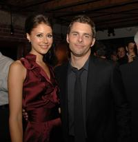 Amanda Crew and James Marsden at the after party of the premiere of
