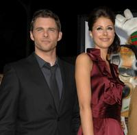 James Marsden and Amanda Crew at the after party of the premiere of