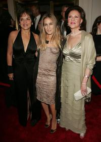 Priscilla Lopez, Sarah Jessica Parker and Kelly Bishop at the opening night of