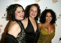 Vanessa Aspillaga, Priscilla Lopez and Daphne Rubin-Vega at the after party of the play opening of