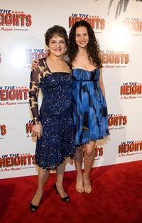 Priscilla Lopez and Mandy Gonzalez at the after party of the opening night of