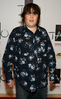 Andy Milonakis at the Tao Nightclub during the club's one-year anniversary party.