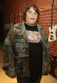 Andy Milonakis at the charity benefit concert for TreePeople at Gibson Showroom.