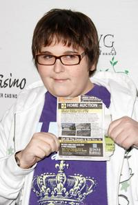 Andy Milonakis at the Seventh Annual World Poker Tour.