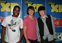 Daniel Curtis Lee, Hutch Dano and Adam Hicks at the 2009 Disney & ABC Television Group Summer Press Junket.