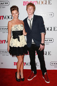 Lili Simmons and Adam Hicks at the 9th Annual Teen Vogue's Young Hollywood party in California.