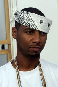 Juelz Santana at the 2005 MTV Video Music Awards.