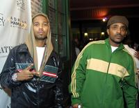 Juelz Santana and Tobe Cobain at the