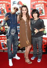Taylor McKinney, Jade Gilley and Boo Boo Stewart at the DVD release party and charity concert event for 20th Century Fox's