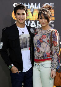 Boo Boo Stewart and Fivel Stewart at the 1st Annual Cartoon Network's Hall Of Game Awards in California.