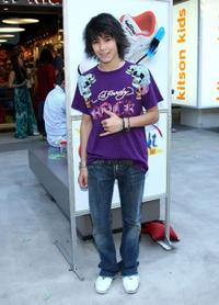 Boo Boo Stewart at the re-opening of the Kitson Kids Robertson Location.