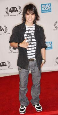 Boo Boo Stewart at the Ninth Annual Golden Trailer Awards.