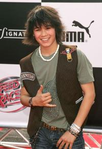 Boo Boo Stewart at the world premiere of