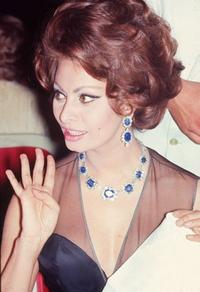 Sophia Loren at the Cannes Film Festival.