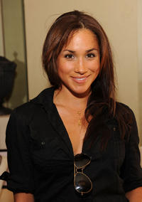 Meghan Markle at the DPA pre-Emmy Gift Lounge in California.