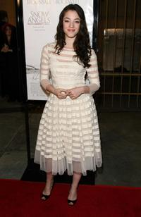 Olivia Thirlby at the premiere of