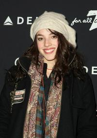 Olivia Thirlby at the 7 For All Mankind and Gen Art's 7 Fresh Faces Sundance Party.