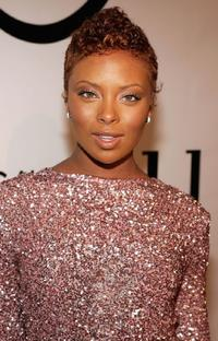 Eva Pigford at the America's Next Top Model Cycle 5 Finale event.