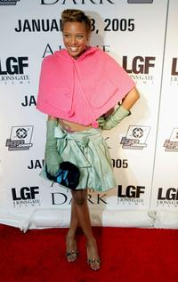Eva Pigford at the release party of