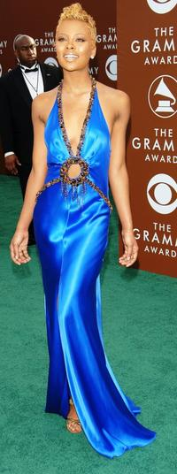 Eva Pigford at the 48th Annual Grammy Awards.