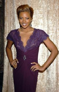 Eva Pigford at the HBO Golden Globe after party.