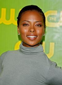 Eva Pigford at the CW Network Winter TCA party.