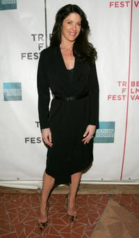 Julie Lott at the premiere of