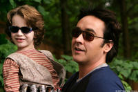 Bobby Coleman and John Cusack in