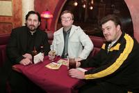John Paul Tremblay, Mike Smith and Robb Wells at the after party of the premiere of