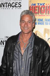 Greg Louganis at the opening night of