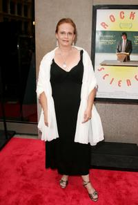 Lisbeth Bartlett at the New York premiere of