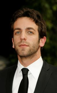 B.J. Novak at the 14th annual Screen Actors Guild awards.