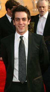 B.J. Novak at the 13th Annual Screen Actors Guild Awards.