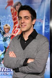B.J. Novak at the premiere of