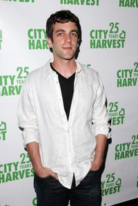 B.J. Novak at the City Harvests Summer In The City benefit tasting dinner.