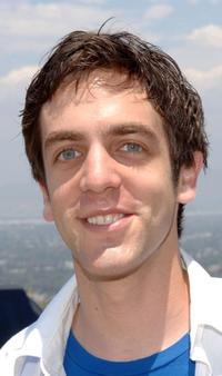 B.J. Novak at the Fulfillment Funds Summer Splash fundraiser.