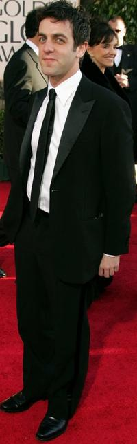 B.J. Novak at the 64th Annual Golden Globe Awards.