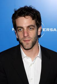 B.J. Novak at the NBC Universal Experience.