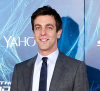 B.J. Novak at the New York premiere of
