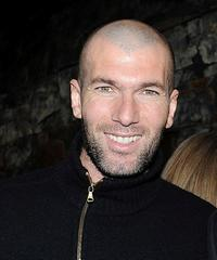 Zinedine Zidane at the IWC Private Dinner Reception.