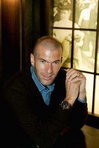 Zinedine Zidane at the preview of