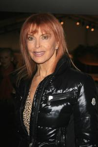 Tina Louise at the fashion tents in Bryant Park during Mercedes-Benz Fashion Week Fall 2008.