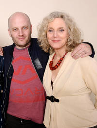 Todd Louiso and Blythe Danner at the portrait session of