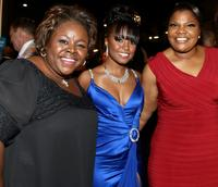Cassi Davis, Keshia Knight Pulliam, Mo'Nique at the 40th NAACP Image Awards.